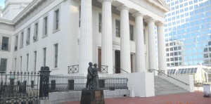 Old Courthouse-DHS Statue