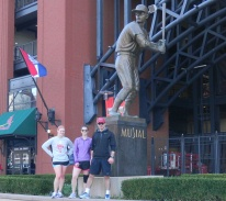 Stan 'The Man' Musial statue at Busch Stadium