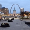 Good morning from downtown St. Louis